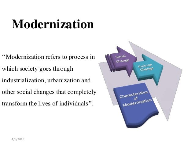 Relationship between Education, Social Change and Modernization
