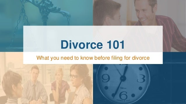 When you know you need a divorce