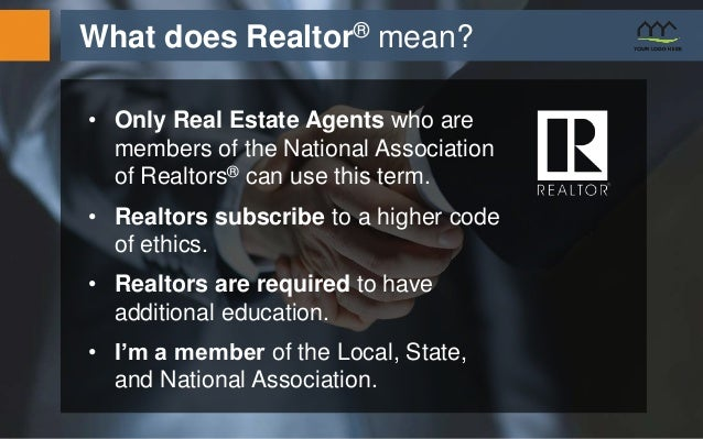 Real estate listing presentation template what does realtor mean pronofoot35fo Image collections