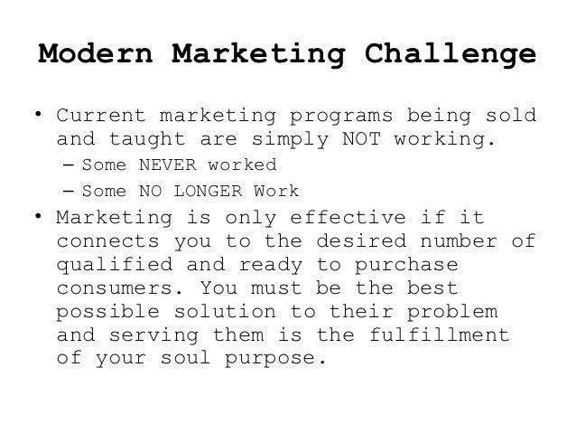 Advisor's Modern Marketing Challenge Slide 2
