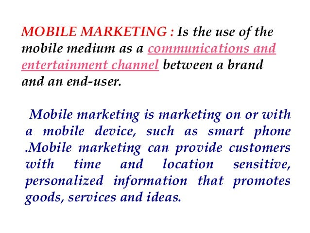 6 modern concepts of marketing