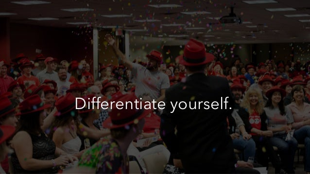 #intalent Differentiate yourself.