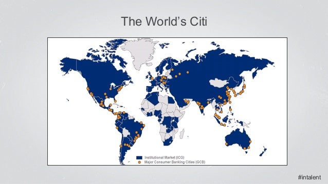 #intalent The World's Citi