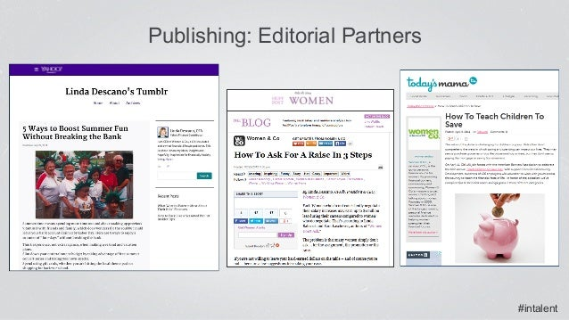 #intalent Publishing: Editorial Partners