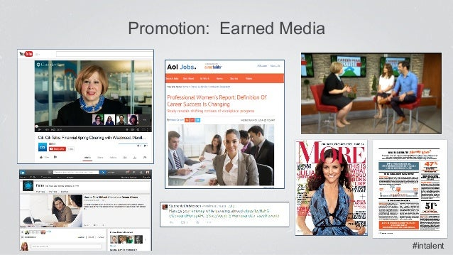 #intalent Promotion: Earned Media