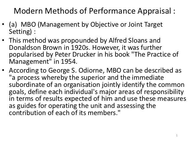 Effectiveness of Performance Appraisal Processes