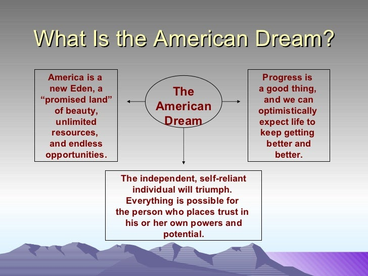 an analysis of the question what is the american dream For my school's summer reading, i have to read in cold blood by truman capote the essential questions i have to answer for it is what is the american dream.