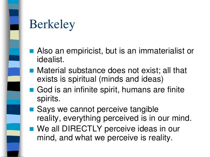 """empiricism and the phrase god exists Locke, hume, empiricism and the existence of god by """"phantaz sunlyk"""" both john locke and david hume claimed an empiricist epistemology, and both came to distinct conclusions with regard to."""