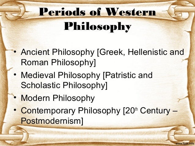 ancient medieval philosophy vs modern philosophy The courses that i am petitioning for in this narrative are as follows: philosophy 309, history of western philosophy i: ancient to medieval and philosophy 310: modern philosophy.