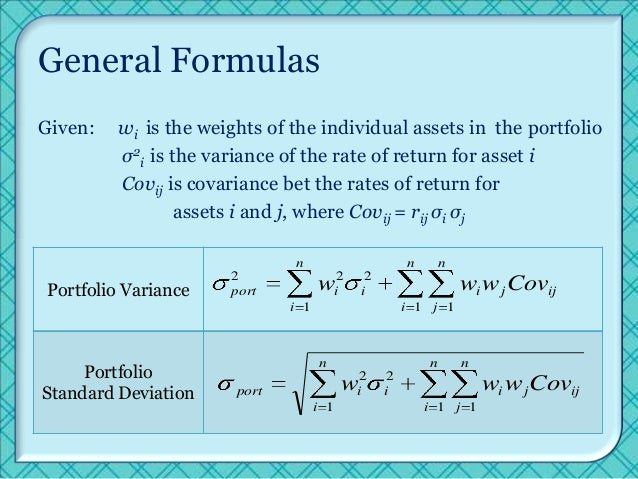 portfolio theory Mit 15401 finance theory i, fall 2008 view the complete course:   instructor: andrew lo license: creative commons by-nc-sa more i.