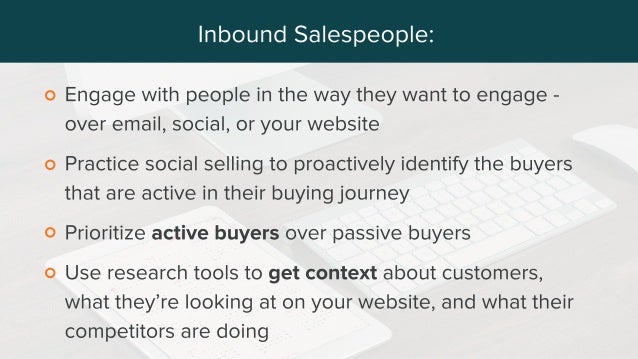 Modern Prospecting Techniques for Connecting with Prospects (from Sales Hacker and HubSpot)