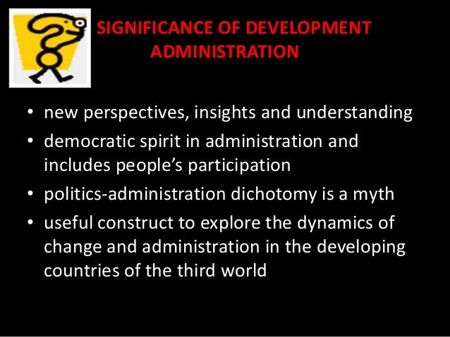 importance of public administration in developing countries