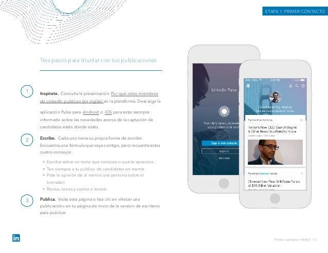 Inspírate. Consulta la presentación Por qué otros miembros de LinkedIn publican (en inglés) en la plataforma. Descarga la ...