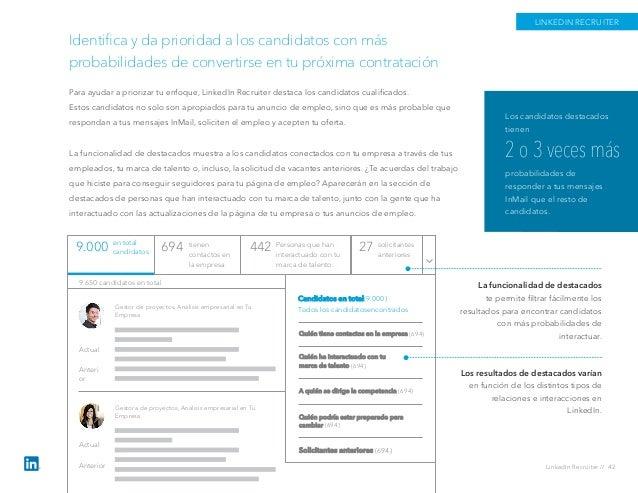Identifica y da prioridad a los candidatos con más probabilidades de convertirse en tu próxima contratación Para ayudar a p...