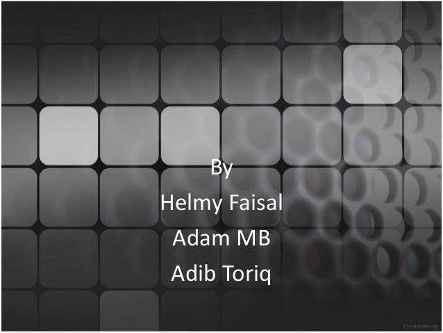 Modern Requirement Spesification By Helmy Faisal Adam MB Adib Toriq