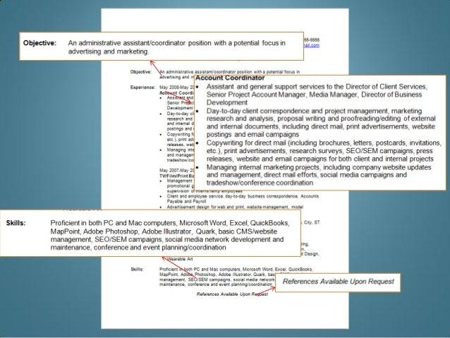 modern resume strategies pdf slideshow