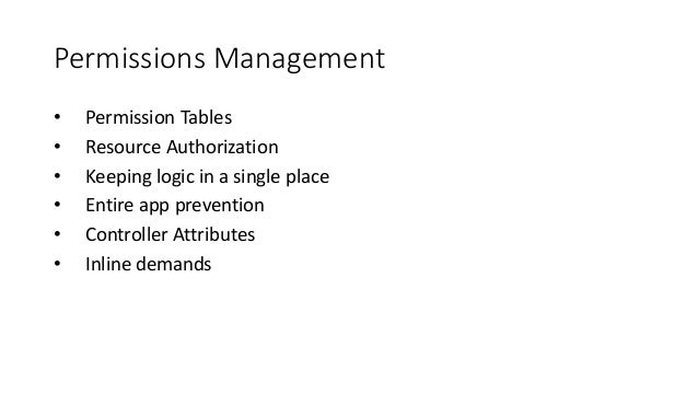 Permissions Model Role Permission Resource Action