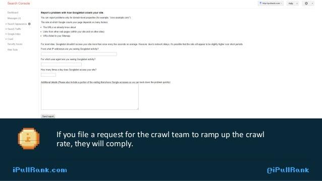 IPULLRANK.COM @ IPULLRANK USE URLPROFILER TO CHECK INDEXATION
