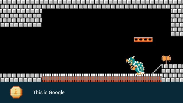 You'll face all types of obstacles to try and beat Google
