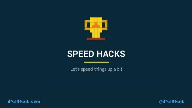 IPULLRANK.COM @ IPULLRANK Code Order Matters. It impacts site speed dramatically.