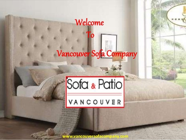 Modern Sofas and Sectionals - Vancouver Sofa Company