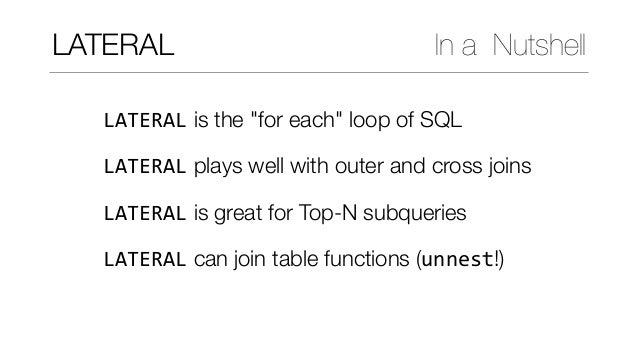 Modern SQL in Open Source and Commercial Databases