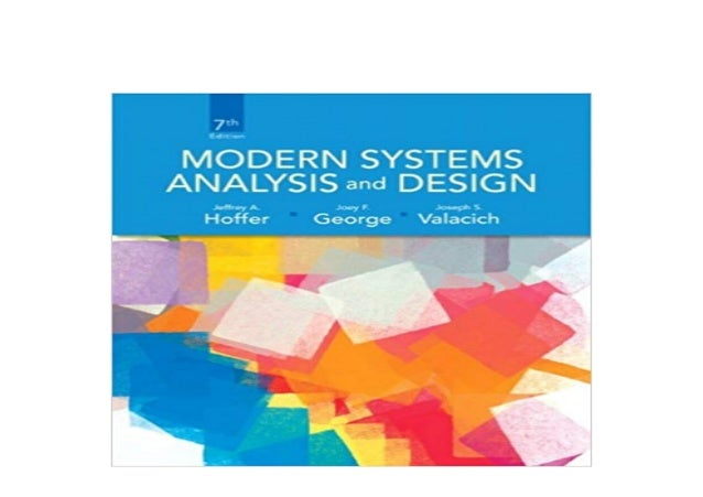 Ebook Download Modern Systems Analysis And Design 7th Edition 7th