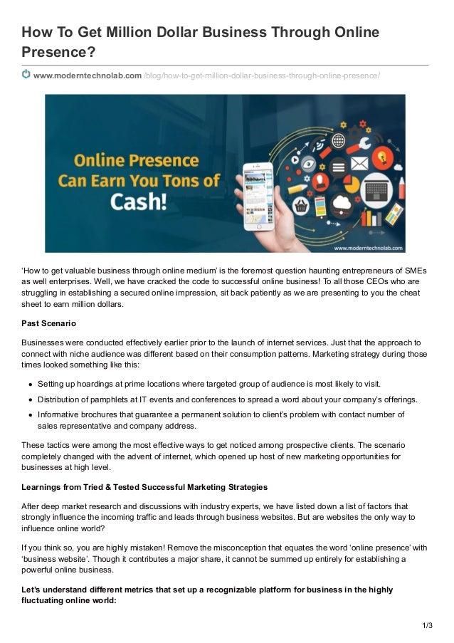 Enhancing Online Presence through Web, Blog, and Shopping Cart