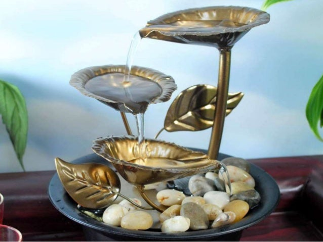 ComModern Textured Led Tabletop Fountain. Ll