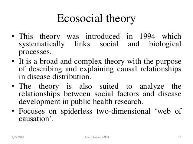 Ecosocial theory