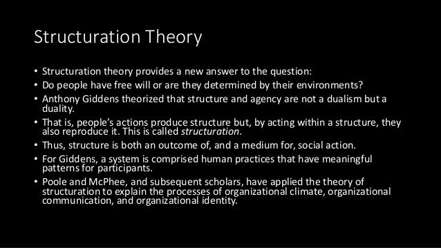 karl weiks theory of organizing Combining theories and concepts from sociology, cultural studies, psychology, geography, history, anthropology, philosophy, gender studies, and other fields, our research examines how people coordinate their activities at difference scales meso and macro level studies look at organisations, institutions, local communities,.