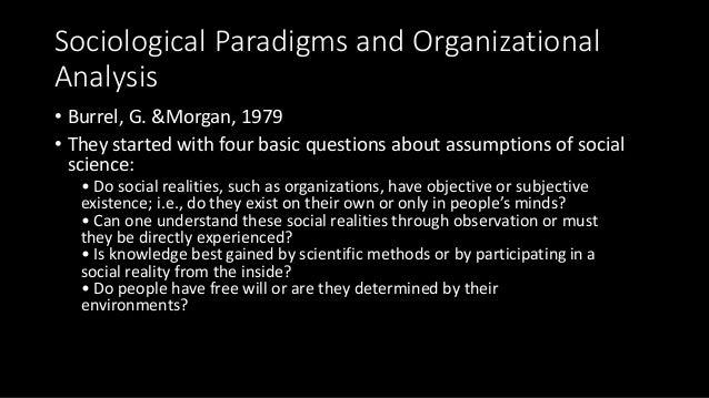 Principles of Organizational Theory