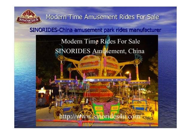 Modern Time Amusement RRiiddeess FFoorr SSaallee  SSIINNOORRIIDDEESS--CChhiinnaa aammuusseemmeenntt ppaarrkk rriiddeess mm...