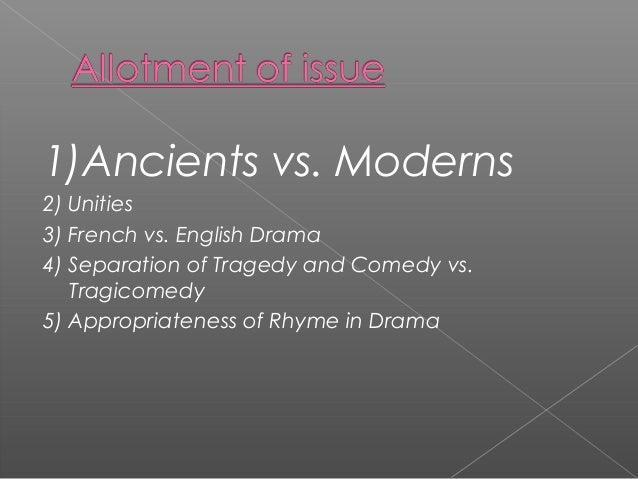drydens essay on dramatic poesy analysis