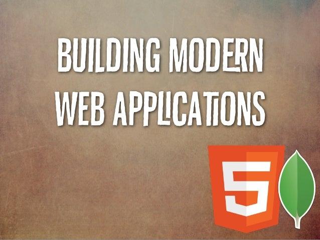 Building Modn Web Acaons