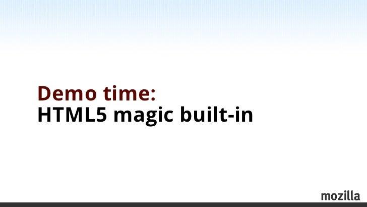 Modern web development Slide 3