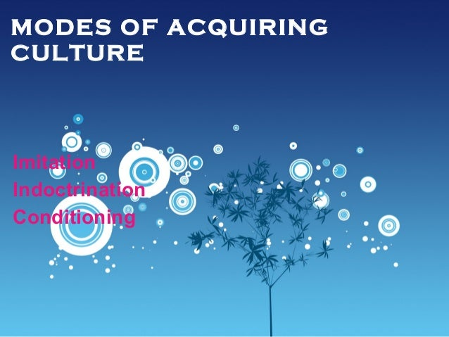 conditioning of acquiring culture Title: social structure and anomie created date: 20160810232050z.