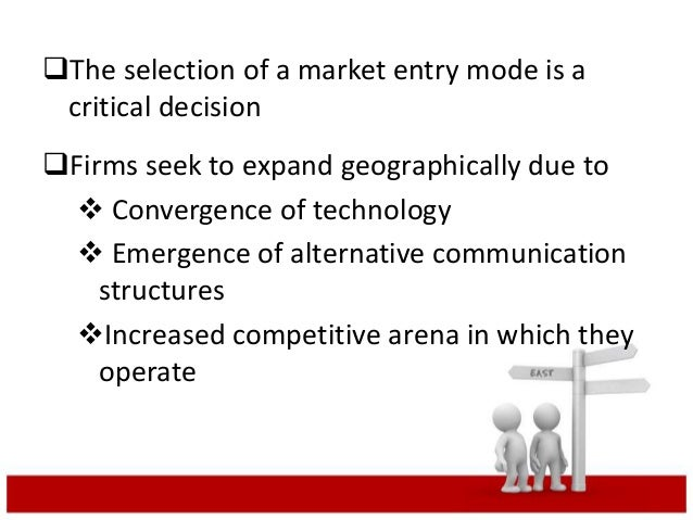 entry modes of toyota in foreign markets Toyota's global strategy —moving  i global manufacturing & marketing in  2002 growth in  asian market: manufacturing & export base for.