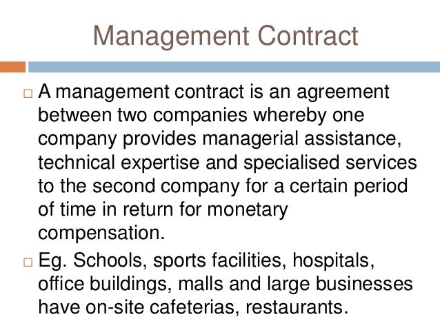 Modes of Entry into International Business – Examples of Contracts Between Two Businesses