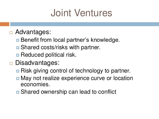 Joint ventures international expansion strategies corporate level….
