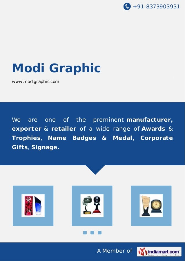 +91-8373903931  Modi Graphic www.modigraphic.com  We  are  one  of  the  prominent manufacturer,  exporter & retailer of a...