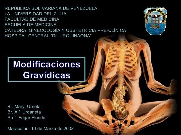REPÚBLICA BOLIVARIANA DE VENEZUELA LA UNIVERSIDAD DEL ZULIA FACULTAD DE MEDICINA ESCUELA DE MEDICINA CÁTEDRA: GINECOLOGÍA ...