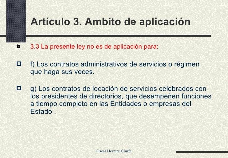 Modificaciones a la ley de contrataciones Slide 3