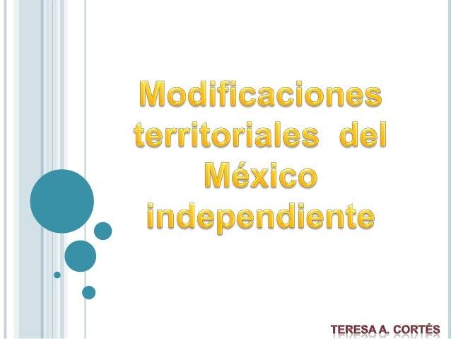 Organización territorial en el Primer Imperio Mexicano Con el fin del imperio en 1823 las provincias centroamericanas decl...