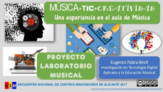 ENCUENTRO NACIONAL DE CENTROS INNOVADORES DE ALICANTE 2017 licencia de Creative Commons Reconocimiento-NoComercial-Compart...