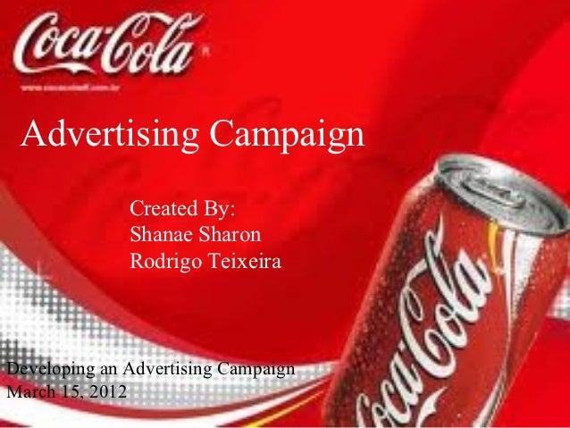 Coca Cola Ad presentation 3.15.12