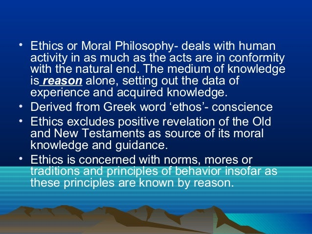 Human Acts and Morality Slide 2