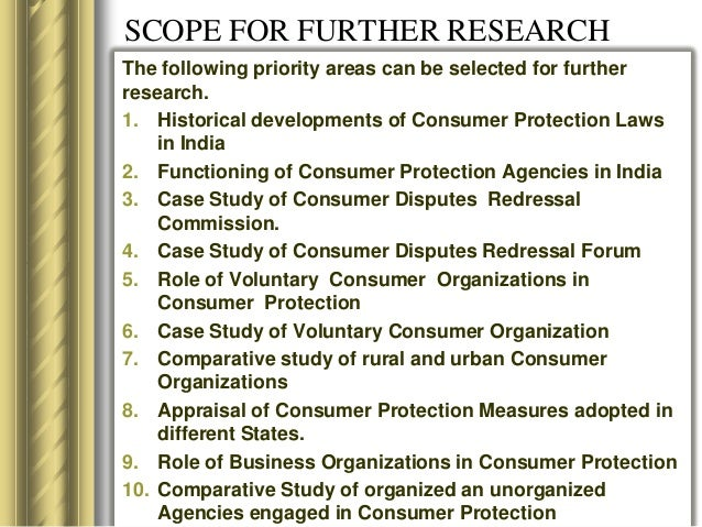 A REPORT ON CONSUMER PROTECTION - Law Teacher