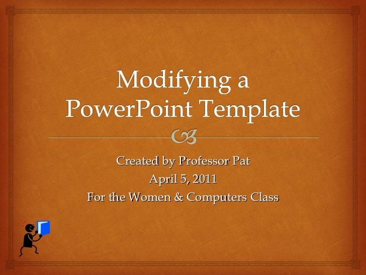 Powerpoint Modify Template Romeondinez