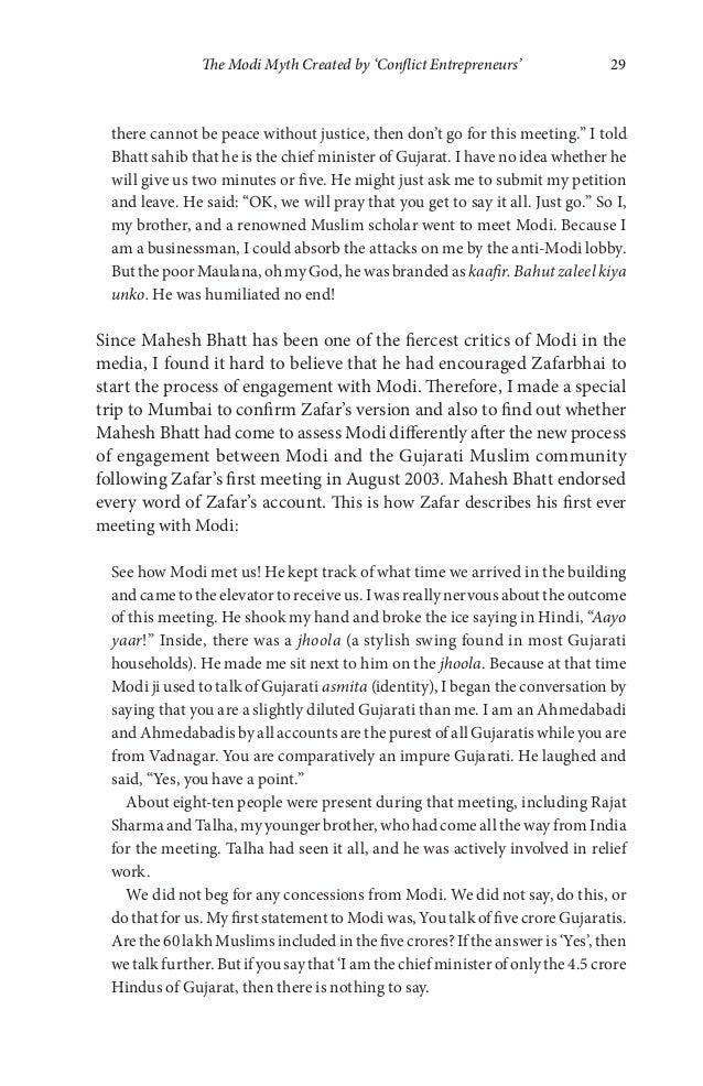 modi muslims and media